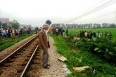 A lô cạnh đường sắt, thanh niên 19 tuổi bị tàu hỏa cuốn tử vong