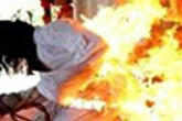 Tìm thấy thi thể bị đốt của người đàn bà mất tích bí ẩn