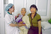 Cắt bỏ khối u tim, kịp thời cứu sống cụ bà 90 tuổi ở Đà Nẵng