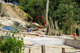 """Lai Châu: Ngang nhiên """"xẻ"""" đất rừng, đánh mìn khai thác vàng trái phép"""