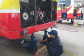 Xí nghiệp xe điện Hà Nội giành giải nhất về bảo dưỡng xe buýt năm 2015