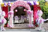 Lễ vu quy giản dị và kín đáo của Trang Nhung