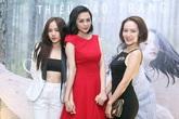 Chị em Phương Linh gợi cảm đến chúc mừng Thiều Bảo Trang