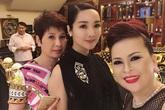 Giáng My tiết lộ biệt thự dát vàng của nhà chồng Hà Tăng