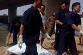 Phát hiện nam thanh niên phân hủy gần cầu Ghềnh