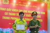 Công an Đà Nẵng khen và thưởng tiền cho một tài xế taxi