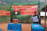 Bản làng vùng cao rộn ràng ngày bầu cử sớm