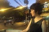 Nguyễn Thị Huyền bị bắt gặp ngồi ăn lề đường ở Sài Gòn