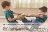 Những cách phạt con khéo léo giúp trẻ tiến bộ và thông minh
