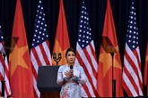 Mỹ Linh nói về vinh dự được hát Quốc ca trước TT Obama