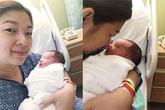 Phạm Thanh Thảo sinh con trai thứ hai tại Mỹ