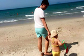 Bức thư xúc động ông bố trẻ viết cho con gái riêng của vợ