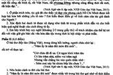 Đề và hướng dẫn giải môn Văn vào lớp 10 ở Hà Nội