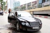 Mang bầu 5 tháng, Á hậu Diễm Trang được đưa đón bằng xe hơn 10 tỷ