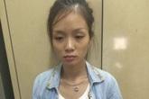 Cô gái xăm trổ ném ma túy khi thấy cảnh sát cơ động