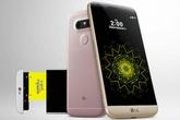 LG G5 ra mắt với vỏ kim loại, thiết kế dạng module
