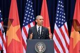 Công nghệ giúp Obama diễn thuyết không cần nhìn giấy