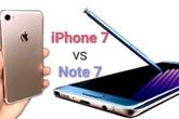 Galaxy Note 7 so tài iPhone 7 trước ngày ra mắt