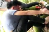 Tạm giữ hai nghi can đánh chết trung uý công an ở Hà Nội