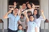 Gia đình Hoàng Bách, Thuý Hạnh cùng kỷ niệm 10 năm ngày cưới