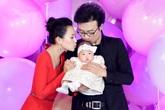 Chương Tử Di mở tiệc hoành tráng mừng con gái 100 ngày tuổi