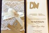 Lộ thiệp cưới của Trang Nhung
