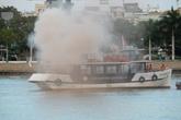 Hai tàu du lịch bị chìm và cháy trên sông Hàn trong tình huống giả định