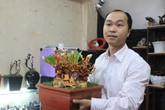 Nấm linh chi bonsai hút khách dịp Tết