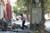 Hà Nội: Nổ bốt điện, 5 người bị bỏng nặng