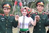 Nhan sắc tuyệt đẹp của những thiếu nữ dân tộc tại Đồng Mô