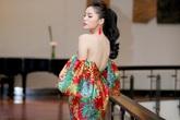 Hoa hậu Kỳ Duyên mặc trễ nải đi event ở Hà Nội