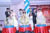 Ba chị em ruột tổ chức chung đám cưới tại Vũng Tàu