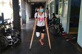 'Nữ sinh mất chân' xuất viện