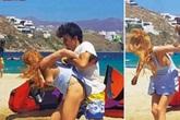 Lộ hình ảnh hôn phu giàu có đánh đập Lindsay Lohan thậm tệ
