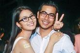 Ngọc Lan ôm chặt bạn trai trong buổi ra mắt phim của Hoài Linh