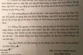 Cấp sổ đỏ trái luật 887m2 đất ở Đông Anh, Hà Nội: Chủ tịch huyện chỉ đạo giữ nguyên hiện trạng
