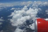 Cảnh đẹp ngỡ ngàng khi bay trên mây trắng bồng bềnh