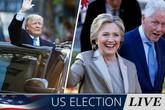 Hàng loạt sự cố trong ngày bầu Tổng thống Mỹ