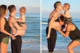 Gia đình hạnh phúc của cặp đôi đồng tính nữ cùng nhau sinh con