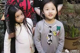 Bất ngờ con gái Triệu Vy đến phim trường thăm mẹ