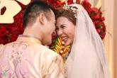 Khoảnh khắc tinh nghịch trong lễ cưới Lương Thế Thành