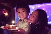 Kim Hiền đón sinh nhật ấm áp bên ông xã và hai con