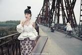 Em gái Đại S khoe ảnh độc lạ ở Hà Nội