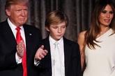 Bà Melania Trump cùng cậu út Barron sẽ không chuyển vào Nhà Trắng