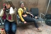 Người phụ nữ trong bức ảnh biểu tượng của vụ khủng bố Bỉ