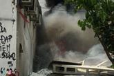 Cháy lớn ở công ty điện lực Nam Từ Liêm