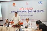 Hội thảo Chính sách và pháp luật về y tế, dân số