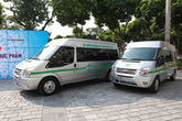 Vingroup trao tặng Thành phố Hà Nội 3 xe kiểm nghiệm thực phẩm