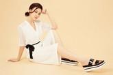 Tùng Lan gợi ý trang phục trắng dự tiệc cuối tuần