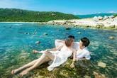 Ảnh cưới lãng mạn của Vân Trang